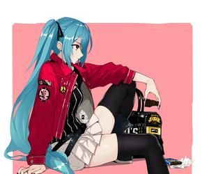 vocaloid, hatsune miku, and anime girl image