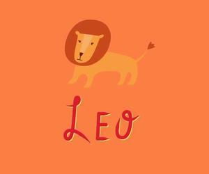 Leo, zodiac, and lock screen image