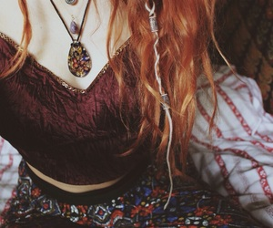 hippie, hair, and style image