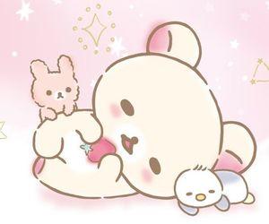 bear, rilakkuma, and cat image