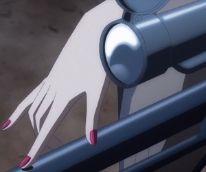 aesthetic, anime, and gun image