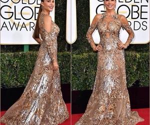 celebrities, dress, and fashion image