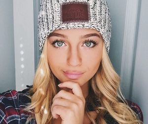 hair, beanie, and beauty image