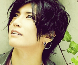 gackt, jrock, and black hair image
