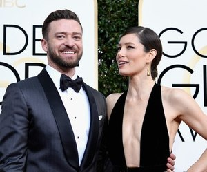 jessica biel, justin timberlake, and golden globes image