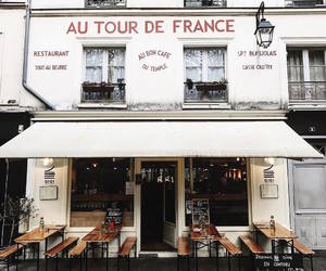 places, restaurant, and france image
