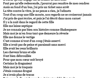 french, quotes, and music image