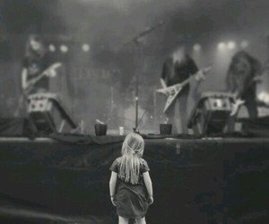 music, rock, and little girl image