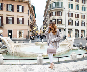 fashion blogger, piazza di spagna, and rome image