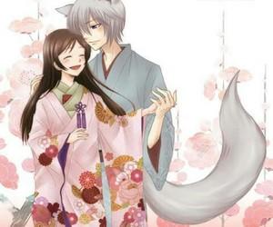 couple and kamisama kiss image