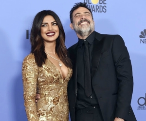 golden globes, jeffrey dean morgan, and priyanka chopra image