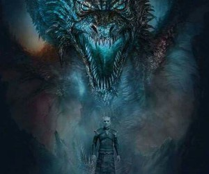 dragon, hbo, and poster image