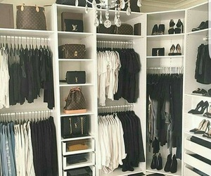 closet, home, and clothes image
