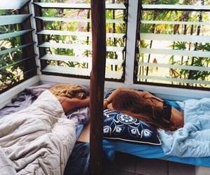 summer, friends, and sleep image