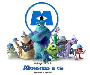 disney, monster inc., and films image