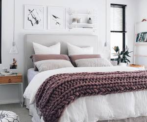 bed, home, and interior design image