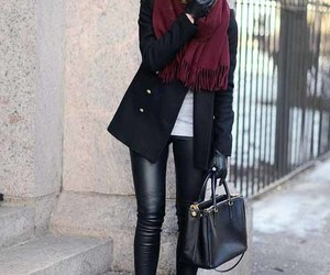 jacket, outfit, and boots image