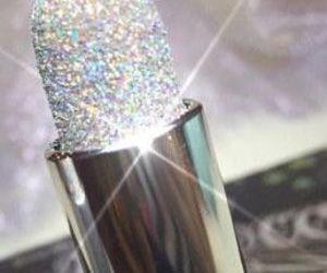 glitter lipstick image