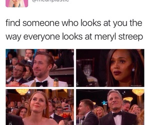 golden globes, meryl streep, and instagram image