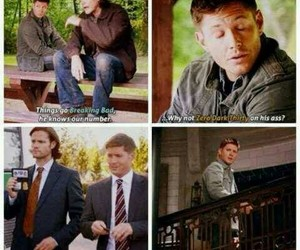 dean, doctor who, and spn image