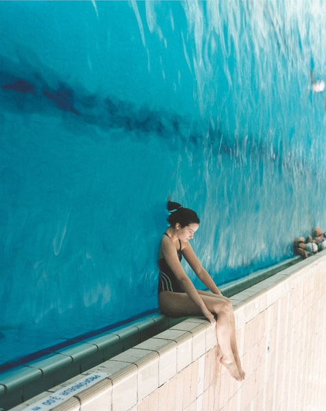 water, pool, and cool image
