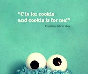 cookie, cookie monster, and wallpaper image