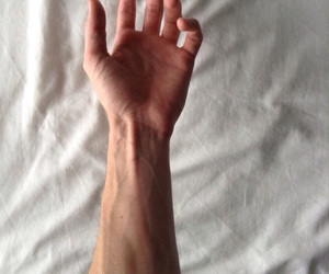 veins, hand, and boy image