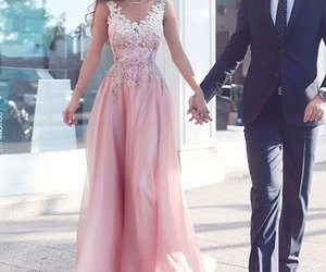 prom dress, evening dress, and formal dress image