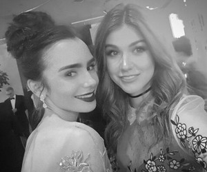 lily collins, shadowhunters, and katherine mcnamara image