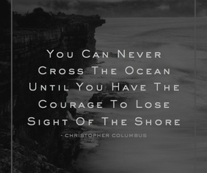 courage, destination, and dive image