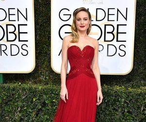 brie larson and red carpet image