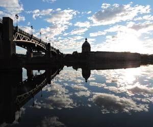 bridge, france, and river image