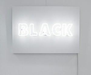 white, black, and light image