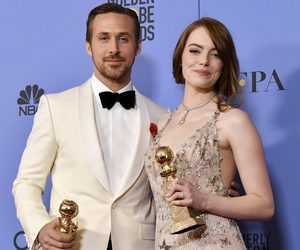 golden globes, ryan gosling, and emma stone image