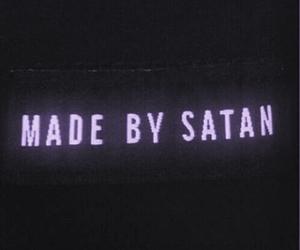 satan, black, and grunge image