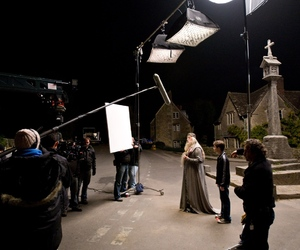 behind the scenes and harry potter image
