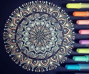amazing, mandala, and art image