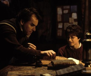 behind the scenes, set, and daniel radcliffe image