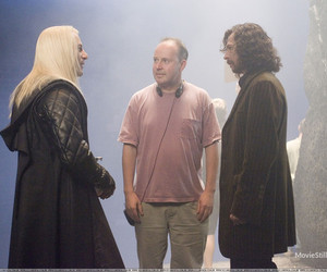 behind the scenes, harry potter, and cast image