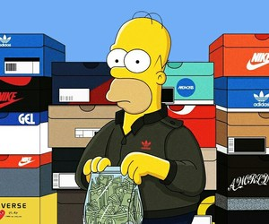 nike and simpsons image