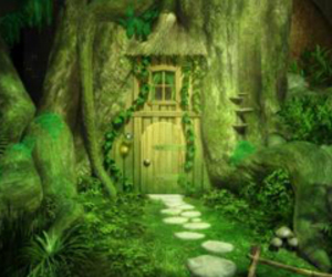green, secret, and tree image