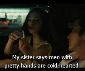 quotes, movie, and men image
