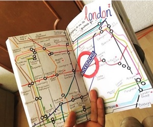 london, london underground, and Londres image