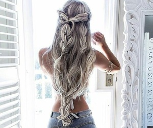 blondes, fashion, and girls image