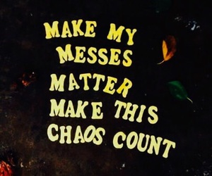 chaos and quote image
