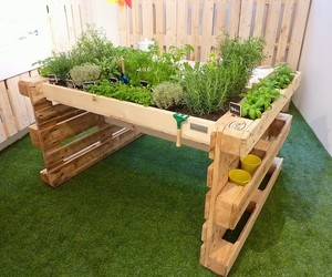designs, diy, and pallets image