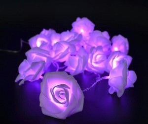 blow, neon, and rose image