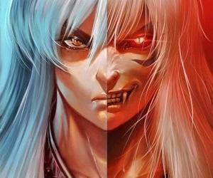 inuyasha, anime, and demon image