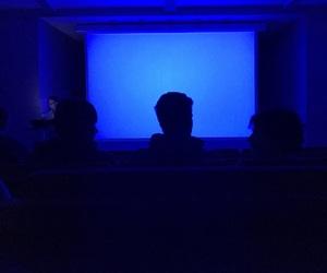 blue, cinema, and dark image