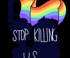 asexual, lesbian, and stop killing us image